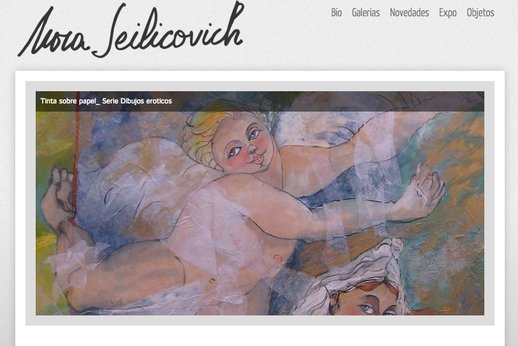 Nora Seilicovich artista plástica