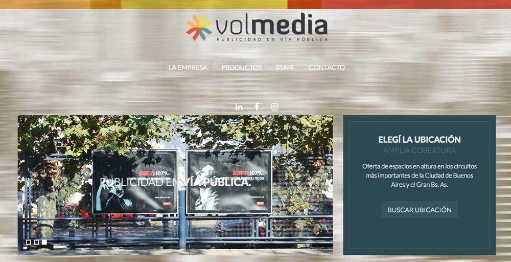 Volmedia Publicidad en Vía Pública