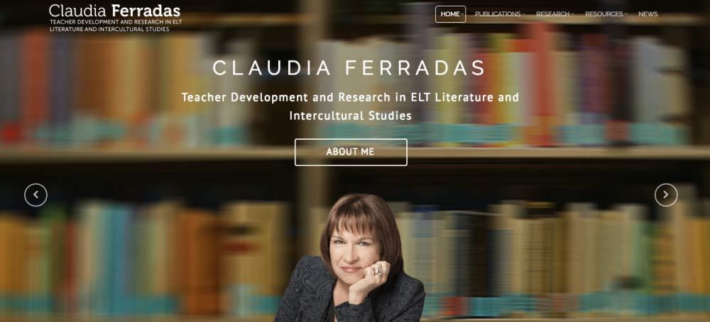 Claudia Ferradas sitio web