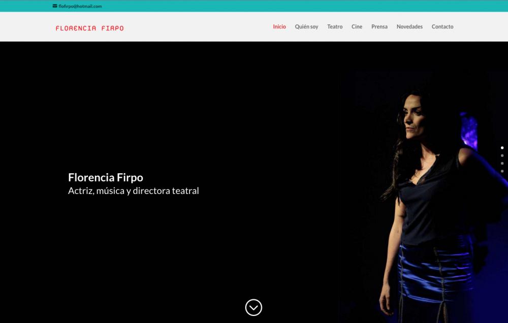 Actriz Florencia Firpo