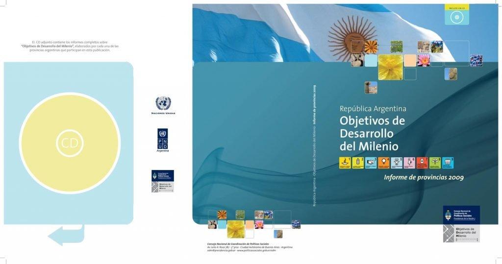 Publicación Objetivos de Desarrollo del Milenio ODM
