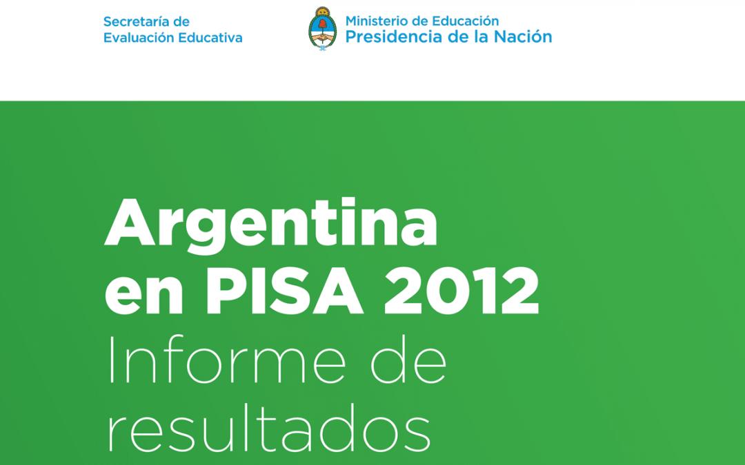 Informe Pisa 2012