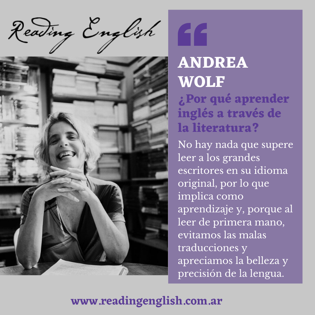 Diseño web One Pager para Reading English